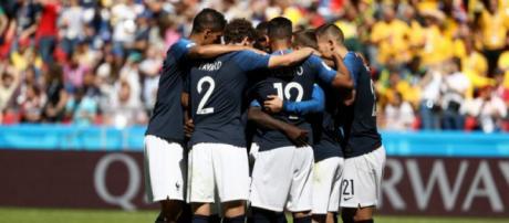 Après le premier but de l'Equipe de France