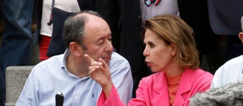 Agatha Ruiz de la Prada tiene una nueva pareja, Luis Miguel Rodríguez 'El chatarrero'