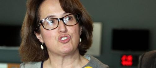 La presidenta de la Asamblea Nacional Catalana ve como única negociación un referéndum