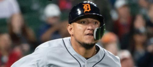 Miguel Cabrera will miss the rest of the season due to a torn biceps tendon. [Image Source: Flickr | Keith Allison]