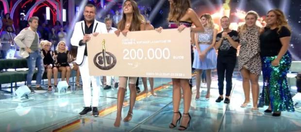 Sofía Suescun es la ganadora de Supervivientes 2018