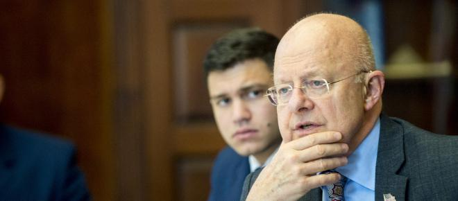 James Clapper says there was a suspect in Russia's delivery of DNC documents to WikiLeaks