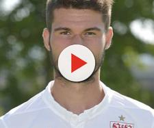 Stuttgart's midfielder Robin Yalcin poses during the team ... - gettyimages.ca