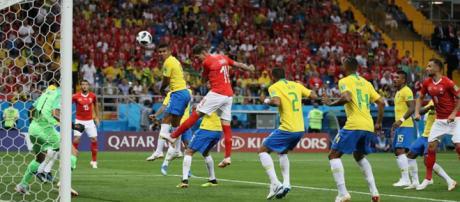 Gol da Suíça foi o primeiro sofrido pelo Brasil no ano.