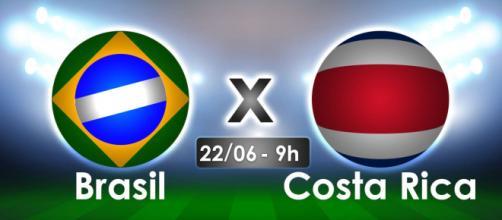 Brasil x Costa Rica se enfrentarão em campo na Copa do Mundo 2018