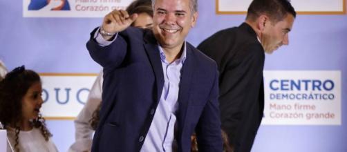 COLOMBIA/ Ivan Duque gana las elecciones y asumirá la presidencia el 7 de Agosto