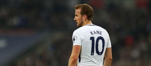 Harry Kane delantero de la selección de Inglaterra