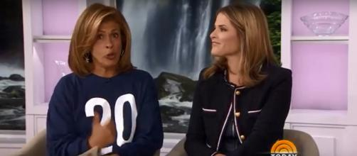 Hoda Kotb and Jenna Bush Hager swapped Father's Day stories and tributes on 'Today.' Screencap TODAY/YouTube