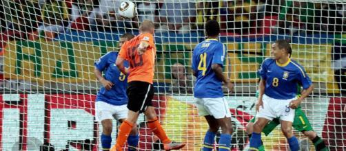 Sneijder acabou com a seleção em 2010.