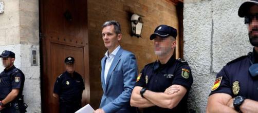 Urdangarin ingresa en la prisión de Ávila para cumplir su condena