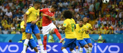 Brasil apenas empata contra Suiza, en su debut en el Mundial