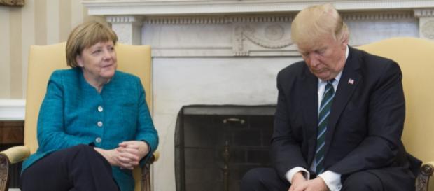 Donald Trump s'en prend violemment à la politique migratoire d'Angela Merkel