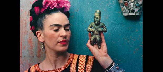 Frida Kahlo e outros artistas têm suas superstições reveladas em livro. Foto: Reprodução.