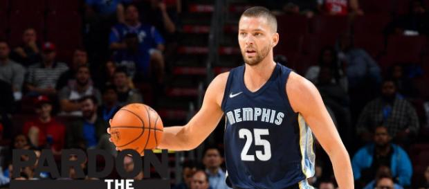 Memphis Grizzlies player Chandler Parsons could be part of a trade package that includes the No. 4 pick. [Image via ESPN/YouTube screencap]