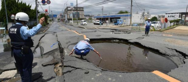 Un fort séisme, de magnitude 6,3 vient de frapper la région d'Osaka au Japon