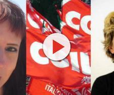 Eliana Como e Susanna Camusso, le prime firmatarie dei due documenti del congresso CGIL