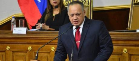 Juramentacion de Diosdado Cabello como nuevo presidente de la Asamblea nacional constituyente (ANC)