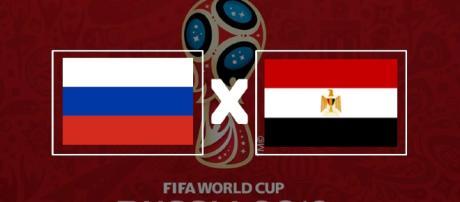 Rússia x Egito ao vivo na Copa do Mundo