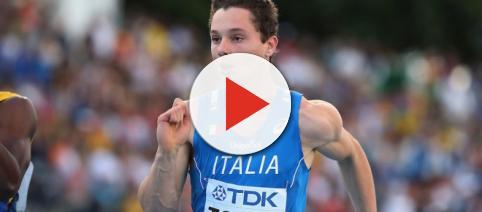 La giovane promessa dell'atletica italiana, Filippo Tortu