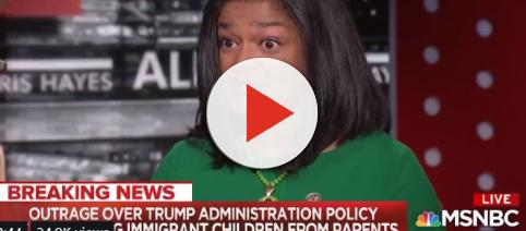 Rep. Pramilla Jayapal speaks to MSNBC about upcoming rallies. [Image Source: Pramilla Jayapal's Twitter]