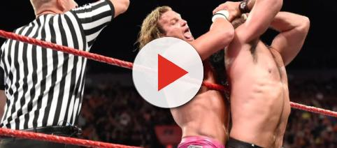 'The Showoff' Dolph Ziggler accepted Seth Rollins' open challenge for the Intercontinental title on Monday night's 'Raw.' [Image via WWE/YouTube]