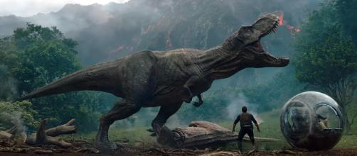 'Jurassic World: Fallen Kingdom' box-office ... (Image via Jurasssic World/Twitter)