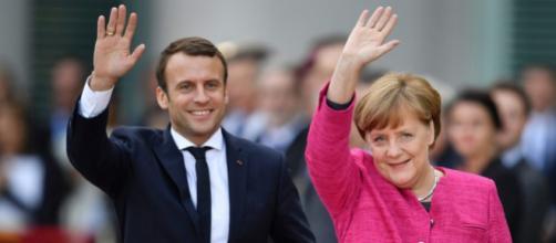 Macron et Merkel à Berlin pour parler Europe