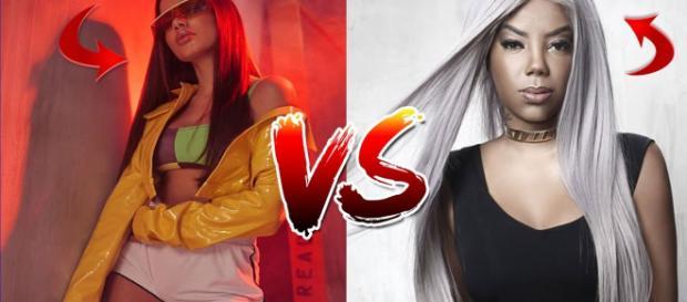 Anitta x Ludmilla: não existe mais briga entre elas
