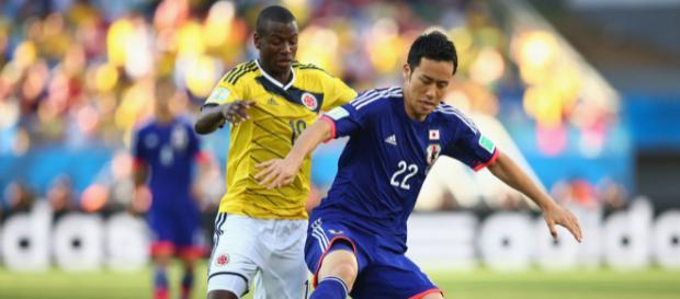 Colombia vs Japón , se enfrentaron hoy para el Grupo H