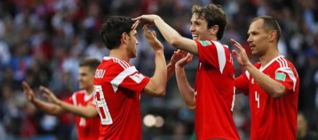 Rusia vence a Egipto 3-0: victoria aplastante para el equipo local