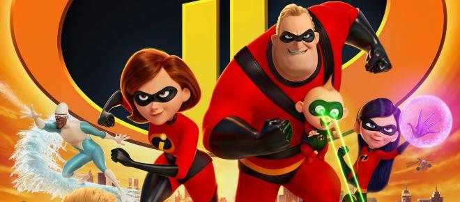 'Los increíbles 2': la película de Pixar ha recaudado 180 millones hasta ahora