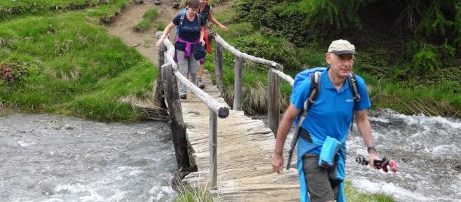 Fitness: Der Vorteil beim Wandern - Durchblutung wird gefördert und die Ausdauer trainiert