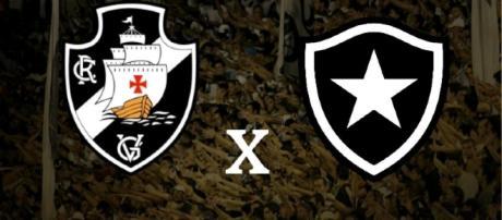 Ao vivo: Vasco x Botafogo pelo Brasileirão. (foto reprodução).