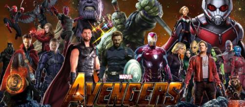 Durante el rodaje de 'Infinity War' en octubre, los actores protagonistas de cada película del Universo Marvel en el cine