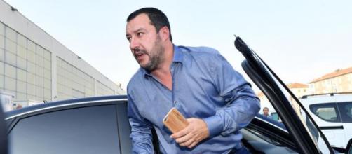 Matteo Salvini, segretario della Lega e ministro dell'Interno.