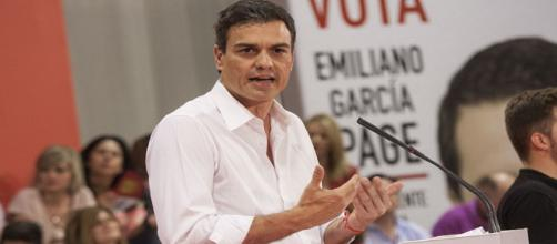 Pedro Sánchez becomse leader os the PSOE via flickr.com