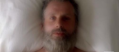 Rick en The Walking Dead de AMC