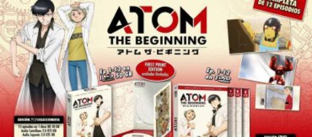 'Atom The Beginning' y su lanzamiento en Blu-Ray y DVD