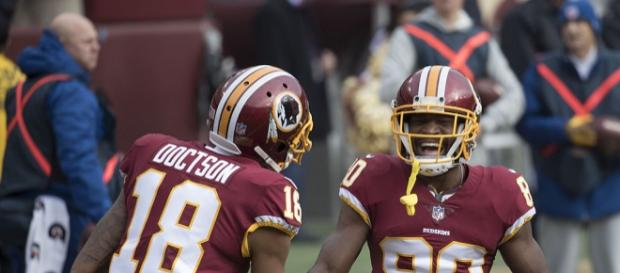 In his third season, Redskins wide receiver Josh Doctson is poised for a break-out. Photo by Keith Allison via Flickr