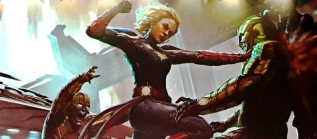 La capitana Marvel puede cambiar la historia de los Vengadores