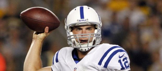 The Colts are hopeful Andrew Luck returns to action in 2018//Photo by NFLFan18   Flickr