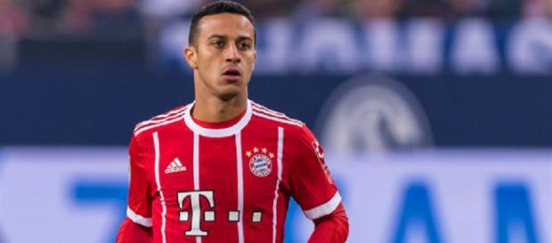 Thiago Alcántara en la lista de transferibles del Bayern Múnich