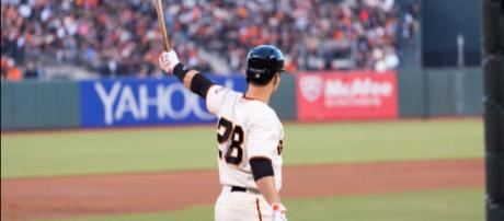 Buster Posey currently leads all National League catchers in All-Star fan voting. Image Source: Flickr   Andy Rusch