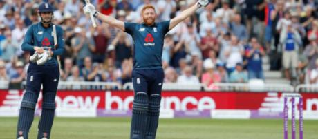 England made the highest one-day international total in history as they crushed Australia by 242 runs - Image - ICC | Twitter