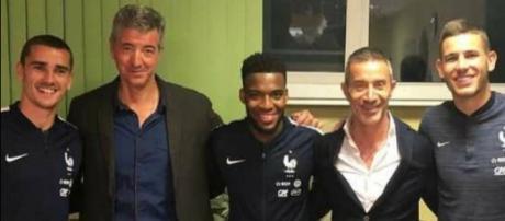 Griezmann , Lemar et Hernandez