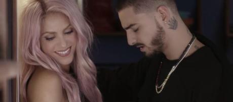 "Tema ""Clandestino"" de Shakira y Maluma supera a ""Despacito"" de Luis Fonsi"