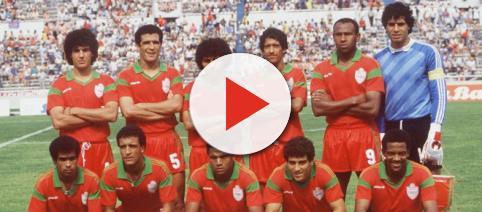 Il Marocco del 1986, prima squadra africana a superare il primo turno alla fase finale dei Mondiali