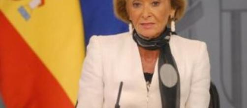 Fernñandez de la Vega Presidenta del Consejo de Estado de España