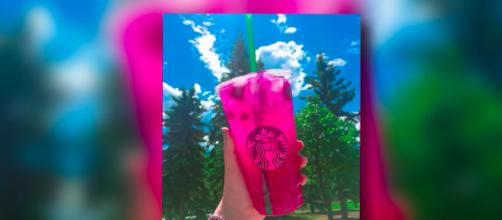 New Starbucks drink. - [Clevver news / YouTube screencap]