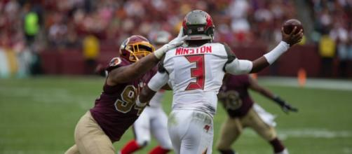 Jameis Winston is expected to begin the 2018 season suspended. - [Image Source: Flickr | Keith Allison]